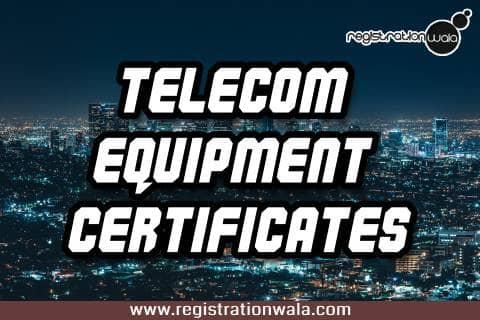 TEC Approval Certificate