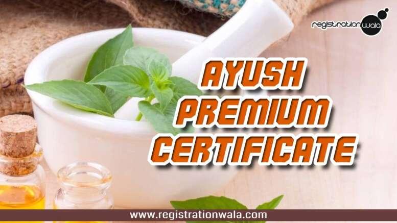 AYUSH Certificate