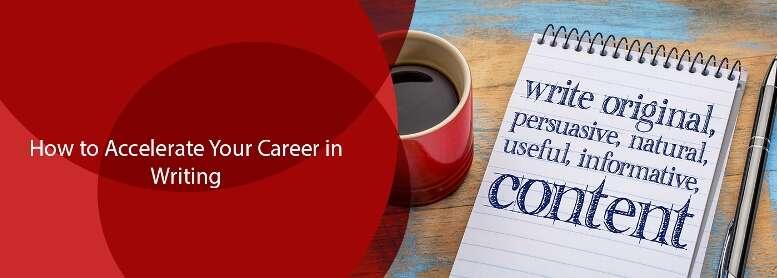 career in writing