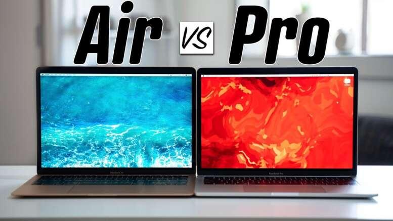 MacBook Air vs. MacBook Pro